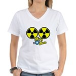 Dirty Bombs Women's V-Neck T-Shirt