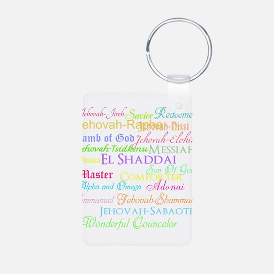 Names of God Keychains