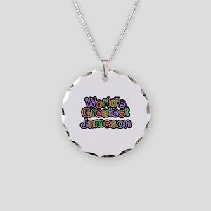 World's Greatest Jameson Necklace Circle Charm