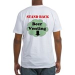 Beer Venting Fitted T-Shirt