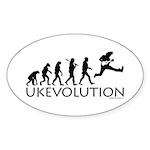 Ukevolution Sticker (Oval)