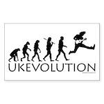 Ukevolution Sticker (Rectangle)