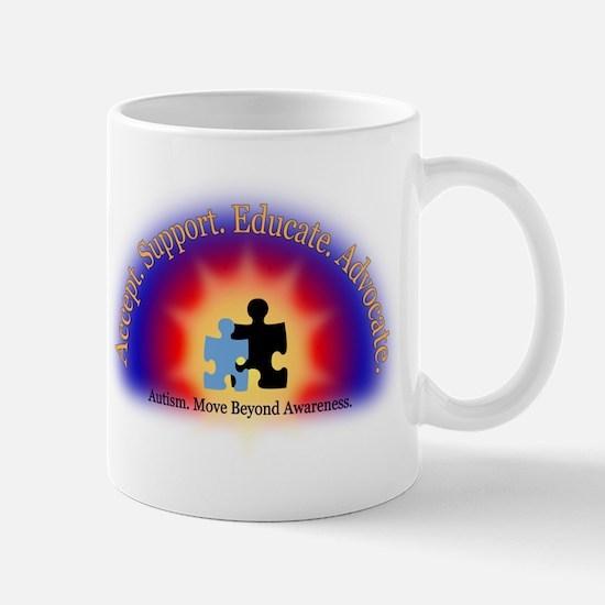 Beyond Awareness (Autism) Mug