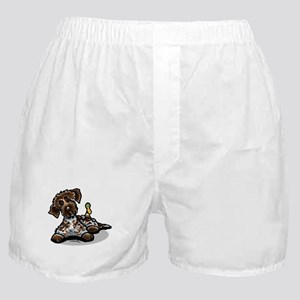 Funny Pointing Griffon Boxer Shorts