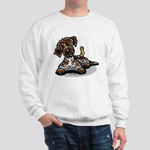 Funny Pointing Griffon Sweatshirt
