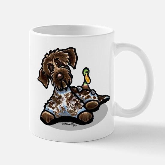 Funny Pointing Griffon Mug