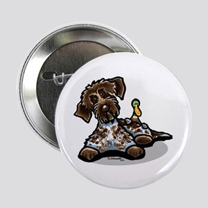 "Funny Pointing Griffon 2.25"" Button"