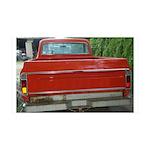 Ch######t Truck Tailgate 38.5 x 24.5 Wall Peel