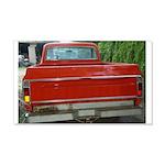 Ch######t Truck Tailgate 22x14 Wall Peel