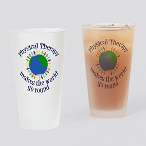 Physical Therapy World Drinking Glass