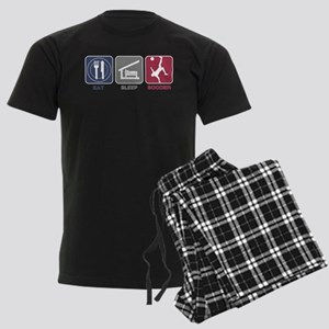 Eat Sleep Soccer - Men's 2 Men's Dark Pajamas
