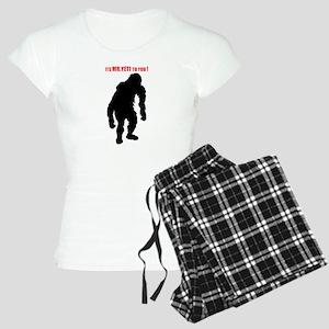 Mr. Yeti Women's Light Pajamas