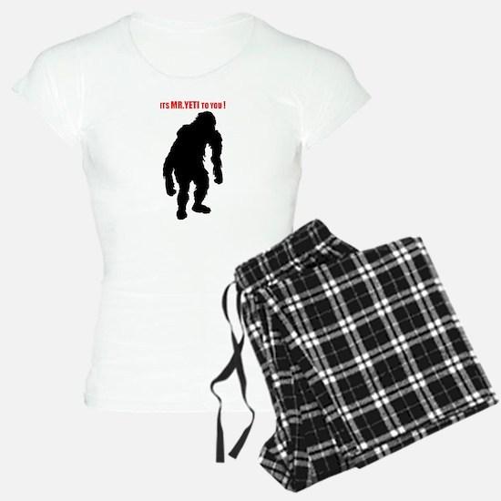 Mr. Yeti Pajamas