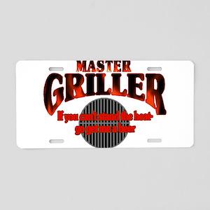 Master Griller Aluminum License Plate