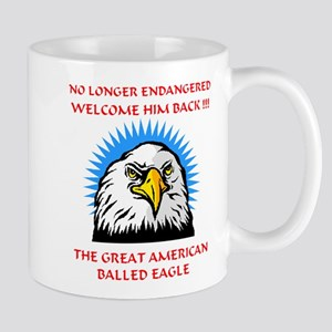 Independence Day MACHO EAGLE Mug