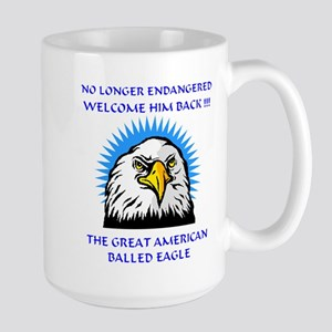 Independence Day MACHO EAGLE Large Mug