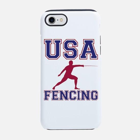 USA Fencing iPhone 7 Tough Case