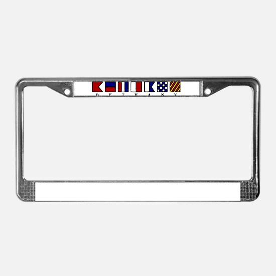 Bethany Beach License Plate Frame