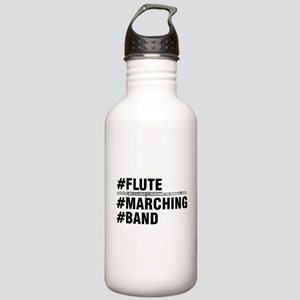 #Flute #Marching #Band Water Bottle