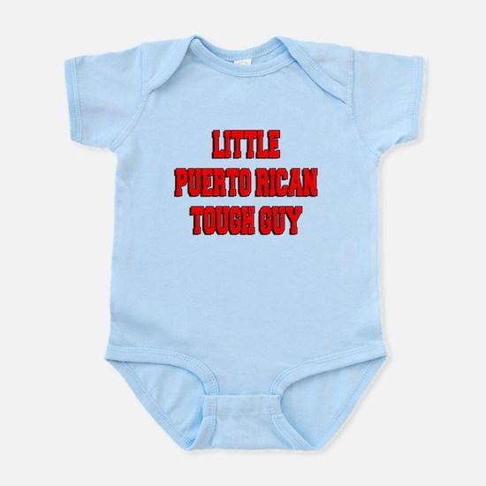 Little Puerto Rican Tough Guy Infant Bodysuit