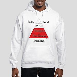 Polish Food Pyramid Hooded Sweatshirt