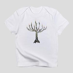 Twig Menorah Chicadees Infant T-Shirt