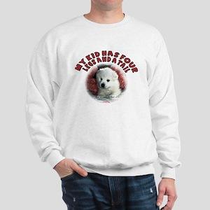 American eskimo Mothers Day Sweatshirt