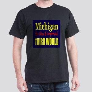 Michigan New 3rd World Dark T-Shirt