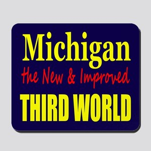 Michigan New 3rd World Mousepad