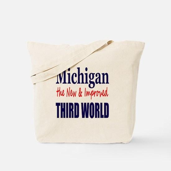 Michigan New 3rd World Tote Bag