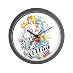 West Coast Tattoo Wall Clock