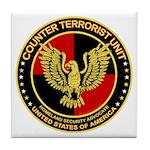 Counter Terrorist Seal Tile Coaster