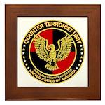 Counter Terrorist Seal Framed Tile
