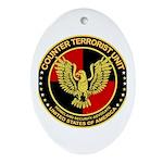 Counter Terrorist Seal Oval Ornament