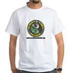 Scales and Tails Logo White T-Shirt