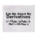 My Derivatives - Ask Me Throw Blanket