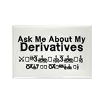 My Derivatives - Ask Me Rectangle Magnet (100 pack