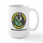 Scales and Tails Logo Large Mug