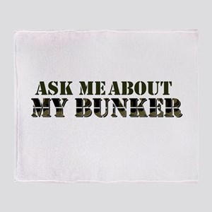 My Bunker - Ask Me Throw Blanket