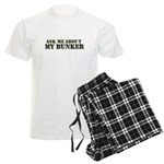My Bunker - Ask Me Men's Light Pajamas