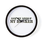 My Bunker - Ask Me Wall Clock