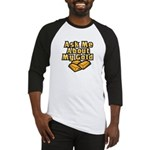 Gold Investing - Ask Me Baseball Jersey