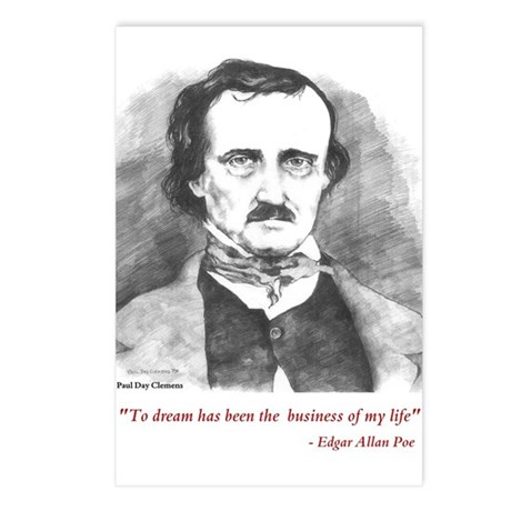 Poe Postcards (Pack of 8)