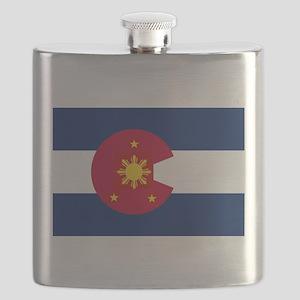Colorado Filipino Flask
