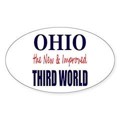 Ohio New 3rd World Sticker (Oval 50 pk)