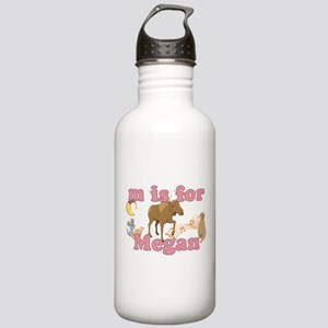 M is for Megan Stainless Water Bottle 1.0L