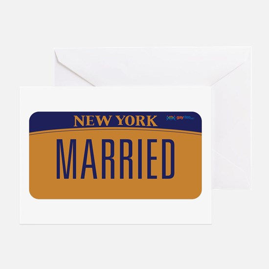 New York Marriage Equality Greeting Card