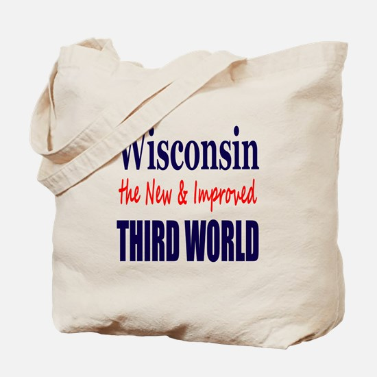 Wisconsin New 3rd World Tote Bag