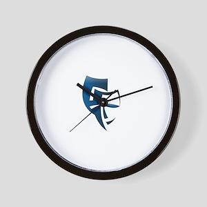 Bipolar Faces Wall Clock