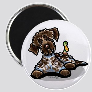Funny Pointing Griffon Magnet
